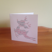 Personalised Reindeer Christmas Cards