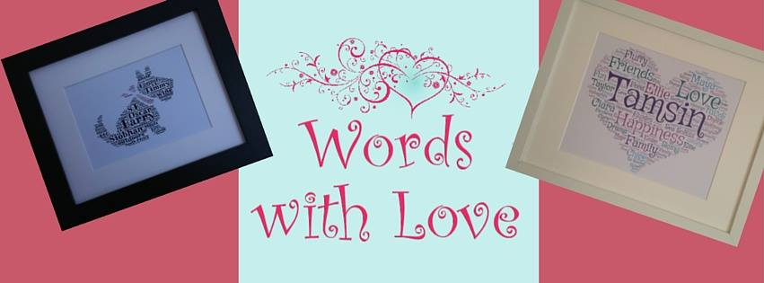 Words With Love Banner