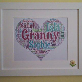 Granny Word Art