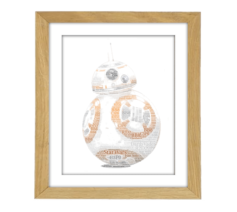 BB8 Wooden Frame
