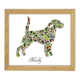 Beagle Wooden Frame