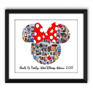 Minnie Mouse Collage