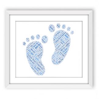 Baby Boy Footprints