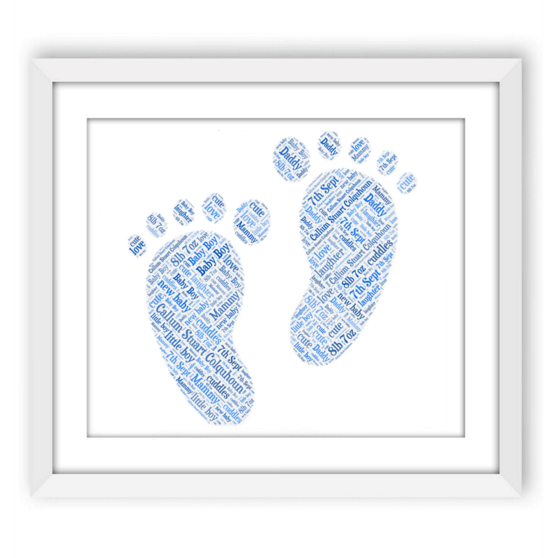 Baby Boy Footprints