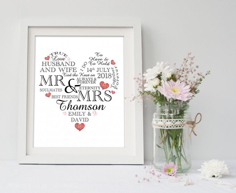 Wedding Day Heart
