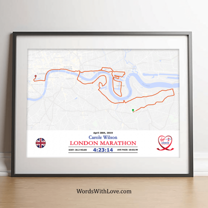 London Marathon Celebration